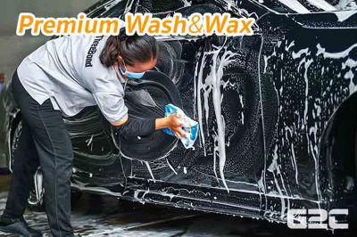 11 ขั้นตอนการล้างรถ Premium Wash & Wax